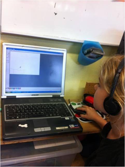 Schüler am PC