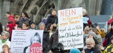 Flashmob gegen Männergewalt